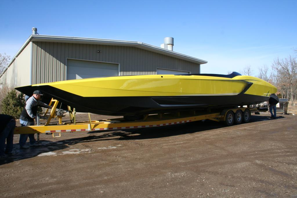 Aventaboat Lamborghini Aventador Owner Commissions A Matching Race Boat Dragtimes Com Drag