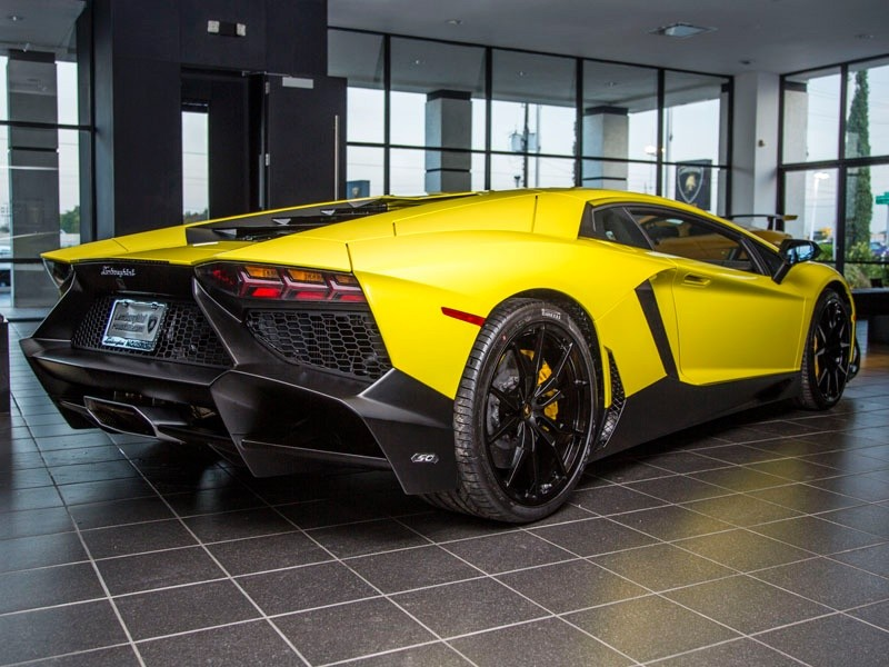 Lamborghini Aventador Lp720 4 50th Anniversary For