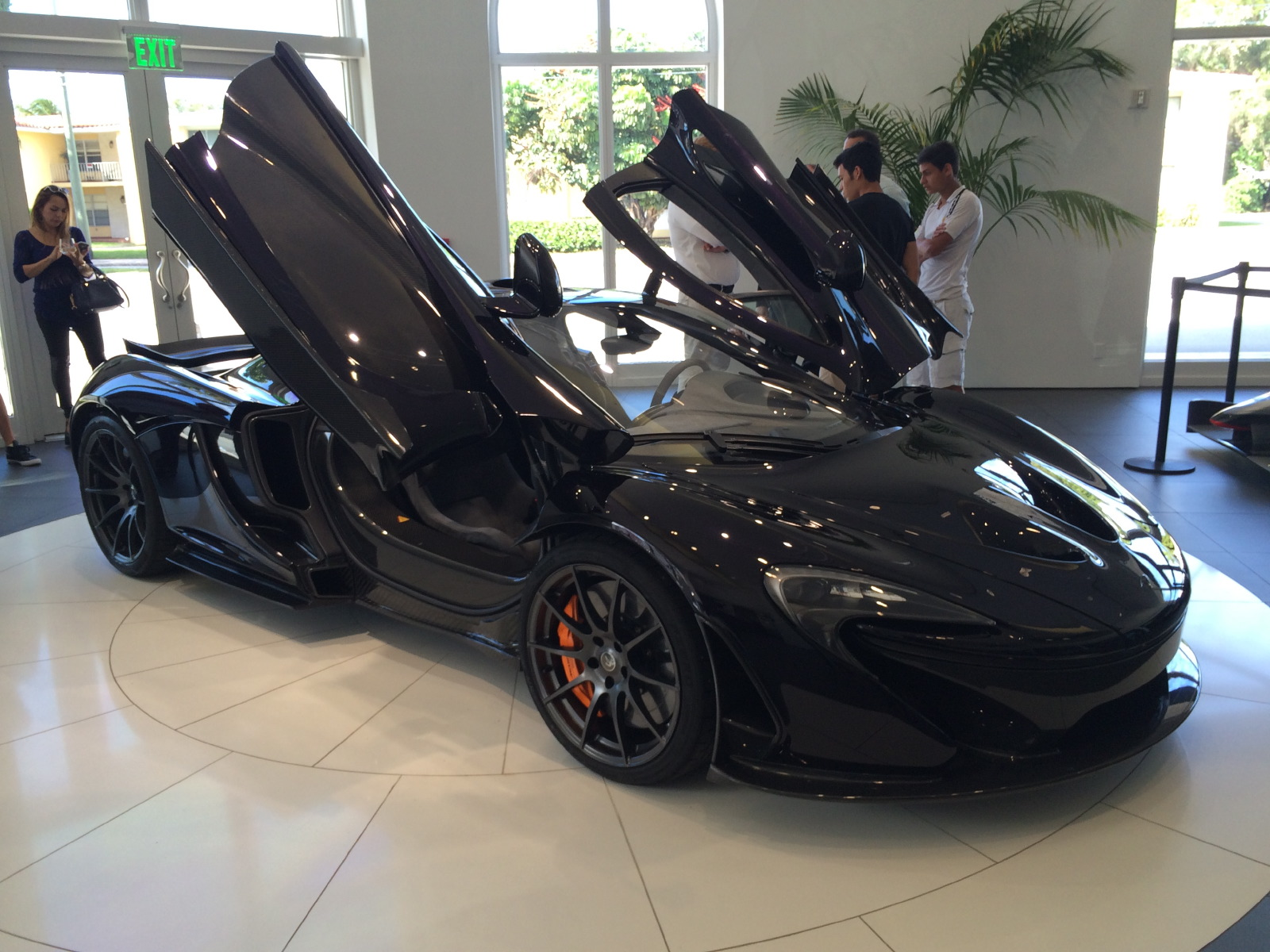 Mclaren P1 Showing At The Collection Coral Gables Fl