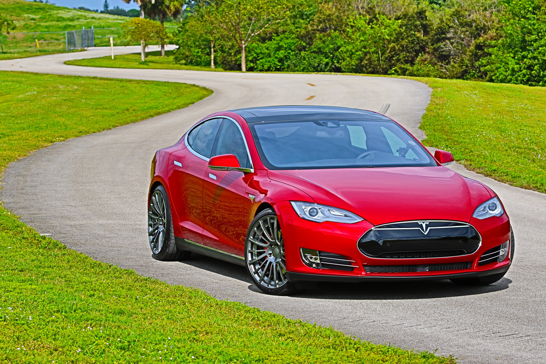 Tesla Model S P90D Ludicrous With Light Weight Pulse