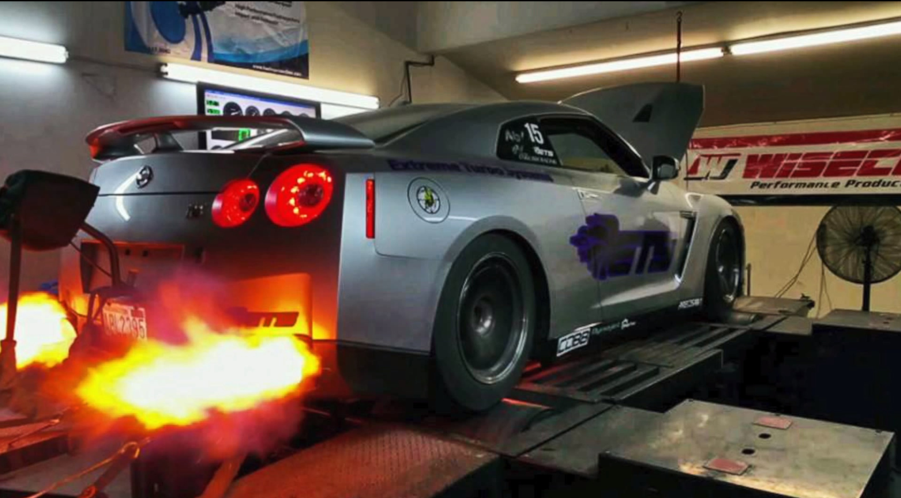Ets Gt R Breaks World Record For 1 4 Mile Dyno