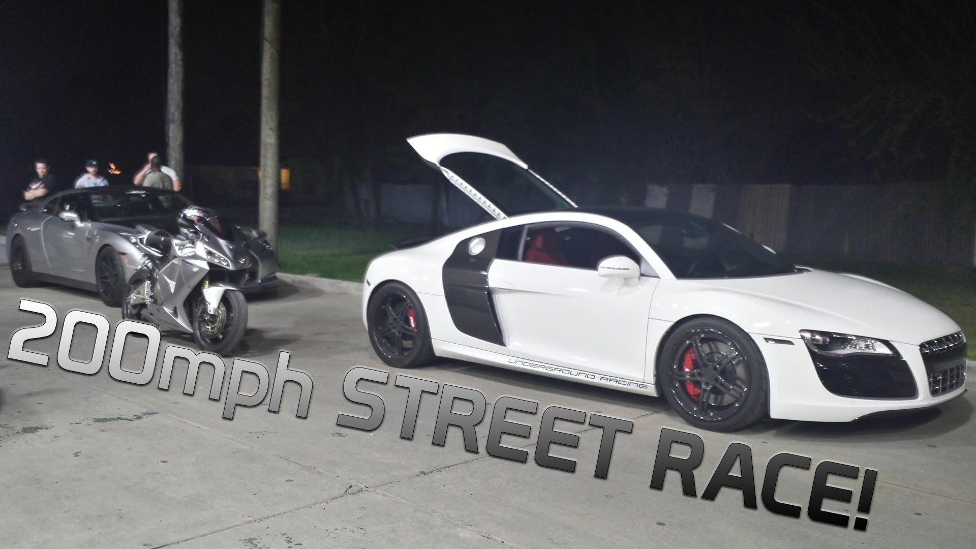 Street Racing Vs Real Car Racing