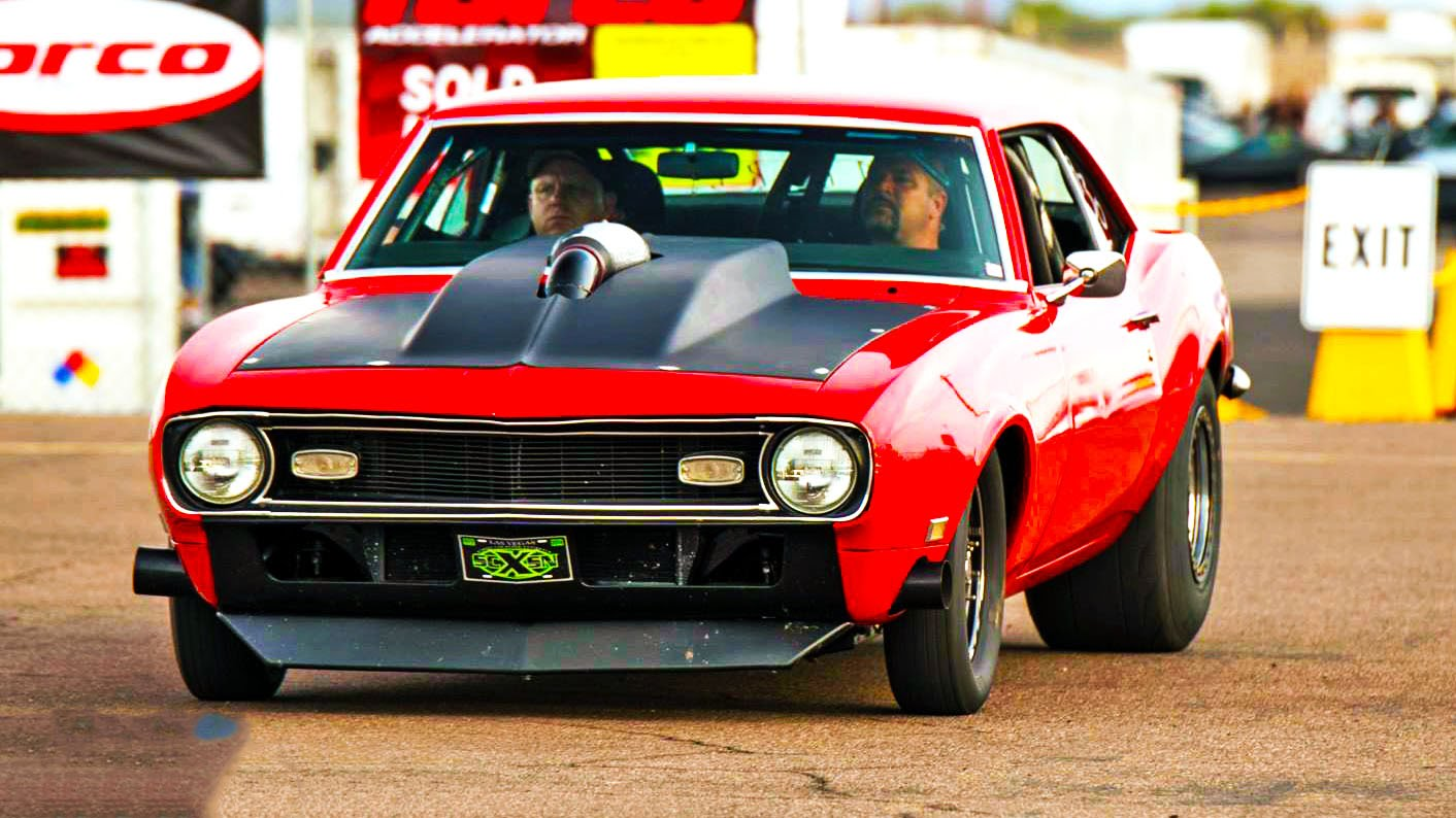 1968 Chevrolet Camaro Ss Running In The 10 S Dragtimes