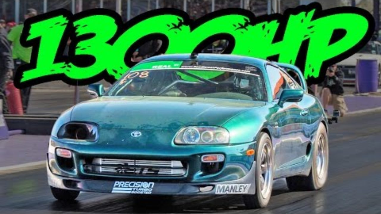 1300hp Supra Posts 8 Second Quarter Mile Dragtimes Com Drag Racing Fast Cars Muscle Cars Blog