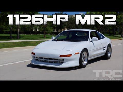 White Lightning – 1126 HP Toyota MR2 | DragTimes.com Drag ...