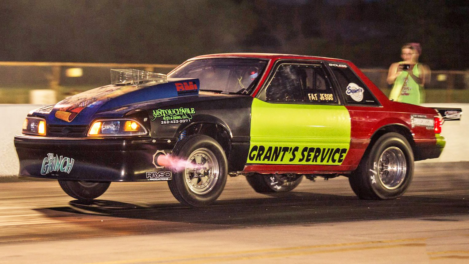 Mustang gt drag racing amateur