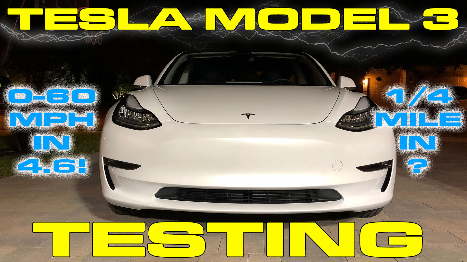 tesla model 3 does 0 60 mph and 1 4 mile vbox testing drag racing fast cars. Black Bedroom Furniture Sets. Home Design Ideas