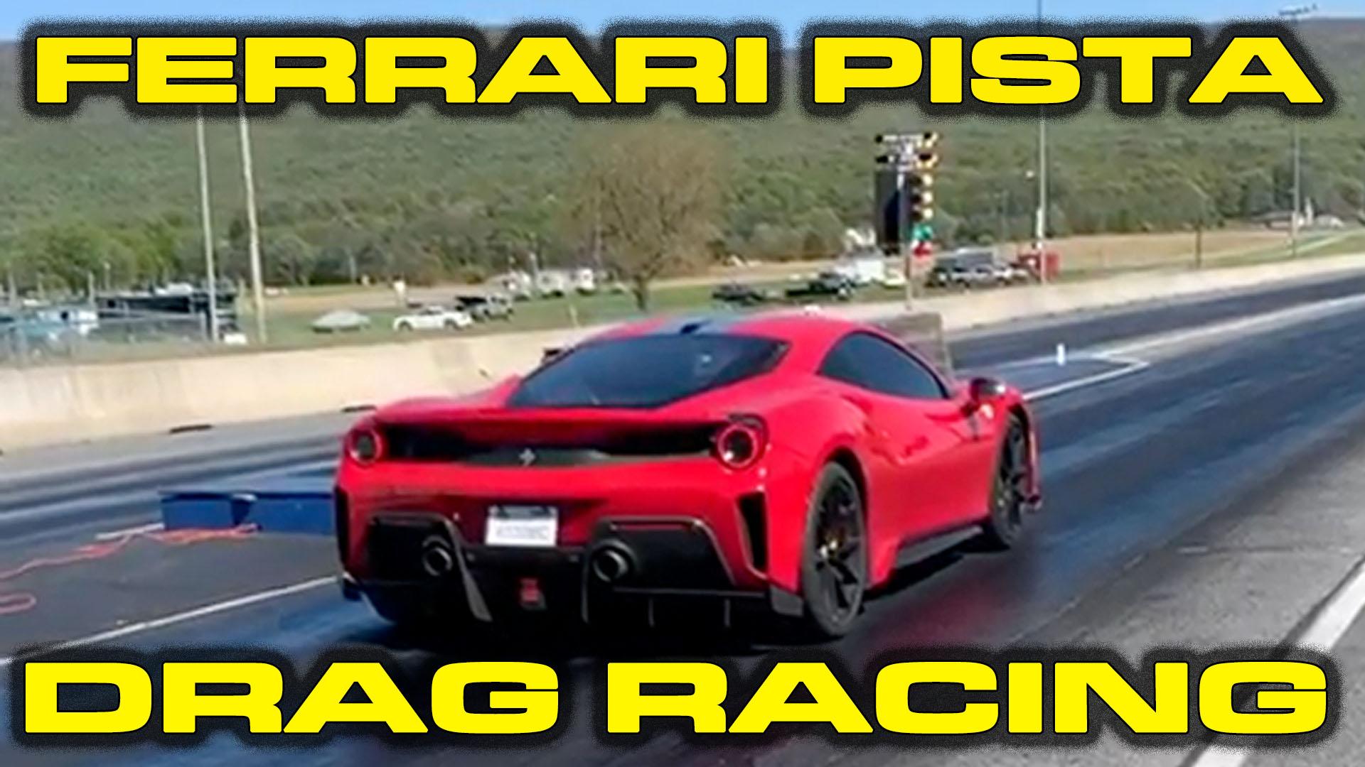 Ferrari Pista 1/4 Mile with Brooks Weisblat