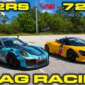 Porsche 911 GT2RS vs McLaren 720s Rematch