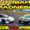 Ferrari Pista vs McLaren 720S
