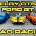 Shelby GT500 vs Ford GT