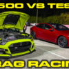 GT500 vs Tesla Race