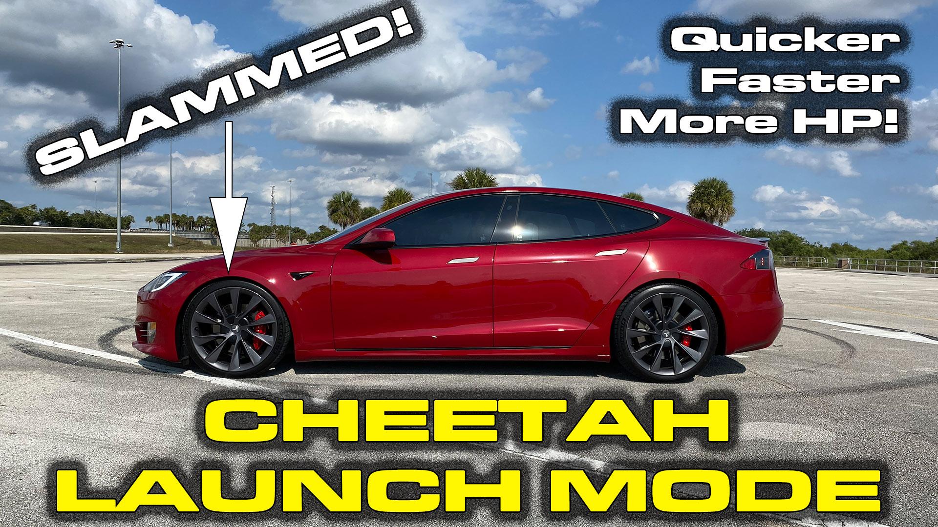 Tesla Cheetah Launch Mode