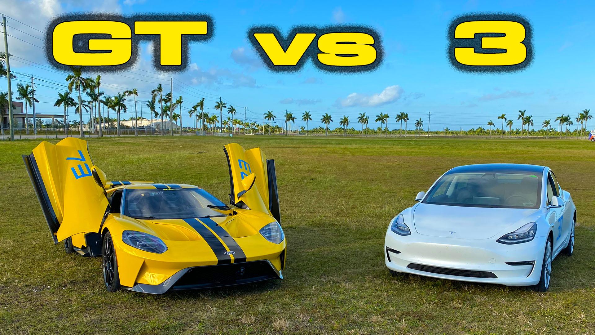 Brooks Weisblat Ford GT vs Tesla Model 3