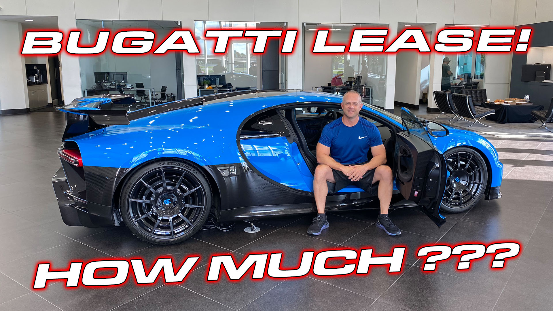 Bugatti Chiron Lease Deal