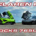 McLaren 765LT vs P1