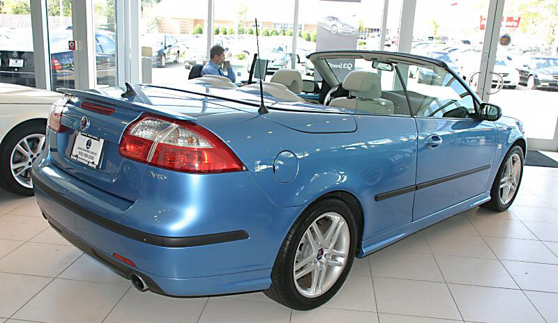 You can vote for this Saab 9-3 Aero Convertible to be the featured car of
