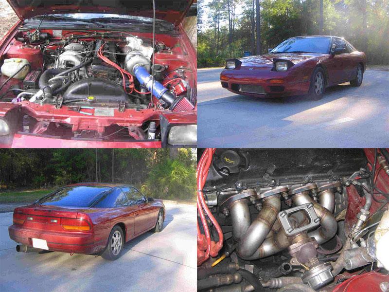 1992 Nissan 240SX Turbo 1/4 mile Drag Racing timeslip specs