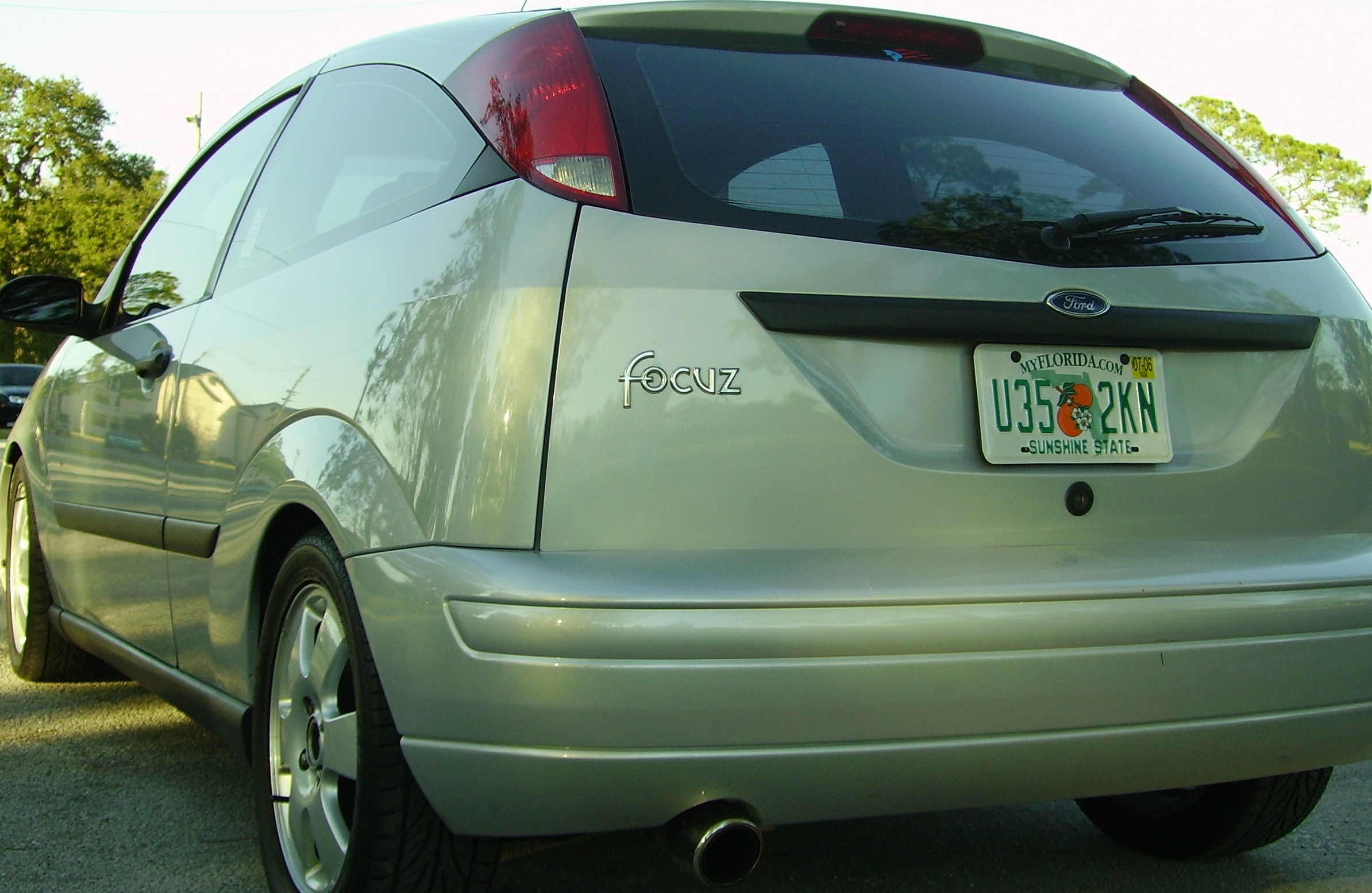 2001 Ford Focus ZX3 1 4 mile Drag Racing timeslip specs 0 60
