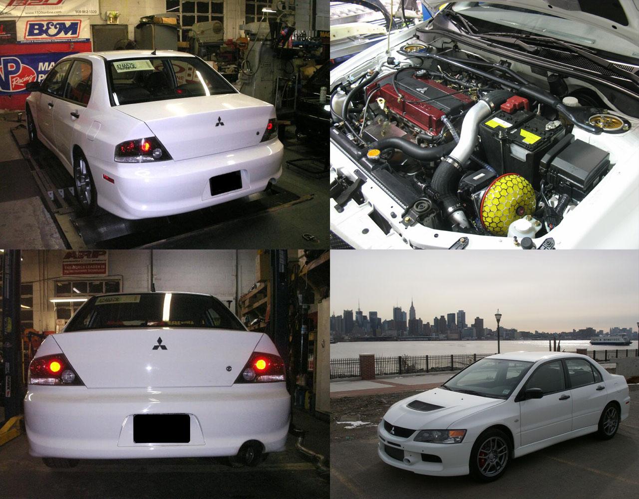 2006 Mitsubishi Lancer EVO IX RS Pictures, Mods, Upgrades, Wallpaper - DragTimes.com