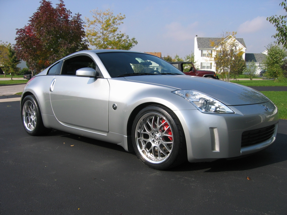 2003 Nissan 350Z APS Twin Turbo 1/4 mile trap speeds 0-60