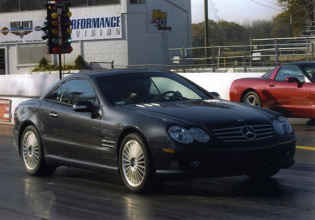 2003 Mercedes-Benz SL55 AMG ECU Tune Pulley 1/4 mile Drag