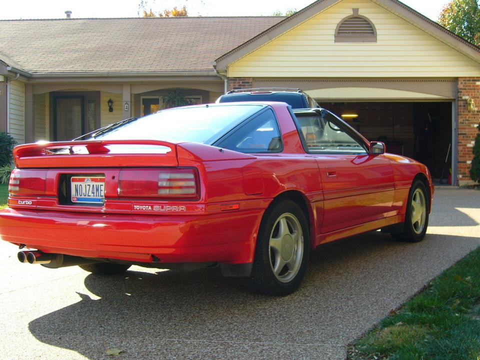 1991 Toyota Supra 1 4 Mile Trap Speeds 0 60 Dragtimes Com