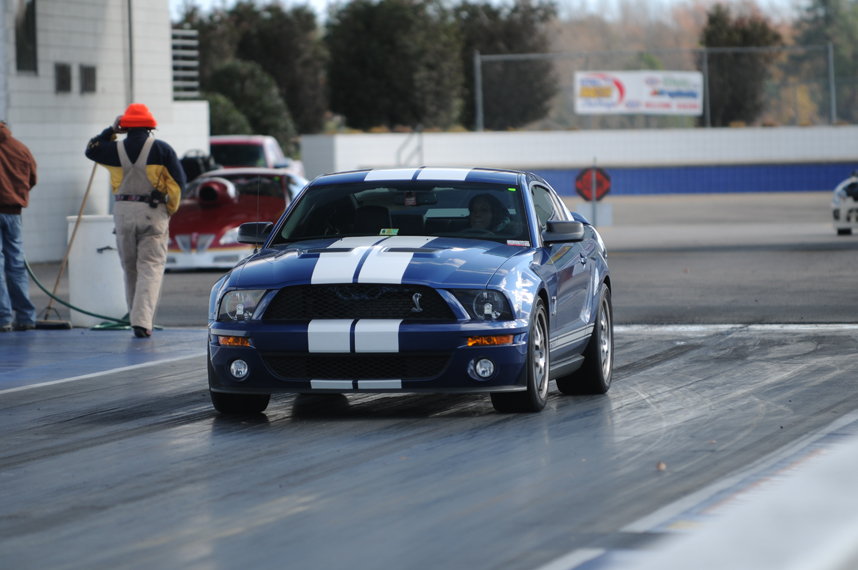 2008 Ford Mustang Shelby-GT500 1/4 mile Drag Racing ...