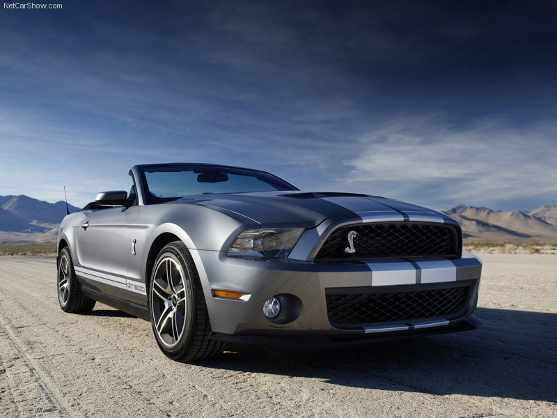 You can vote for this Ford Mustang Shelby-GT500 Convertible to be the