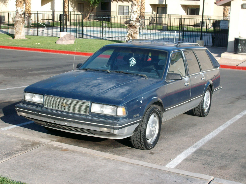 1989 Chevrolet Celebrity CL 1/4 mile trap speeds 0-60 - DragTimes.com
