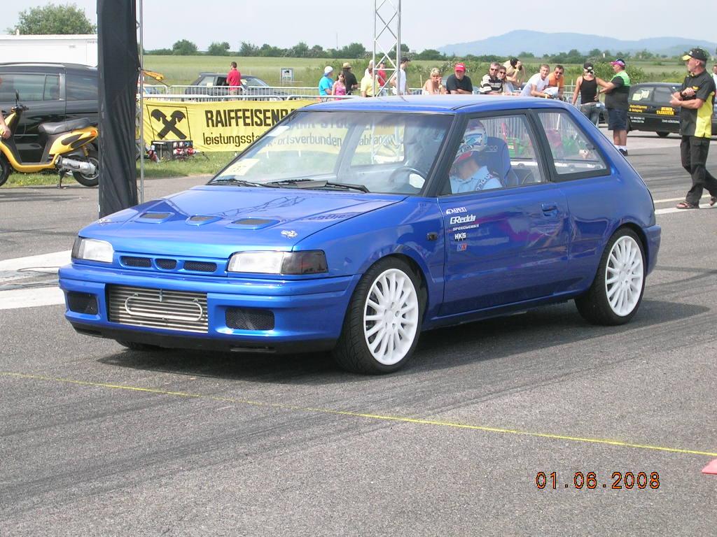 1992 Mazda 323 Gtr 1 4 Mile Drag Racing Timeslip Specs 0