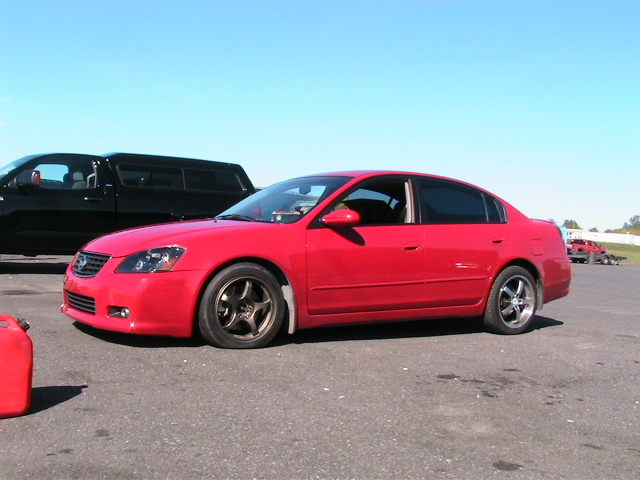 2005 Nissan Altima SE-R 1/4 mile Drag Racing timeslip ...