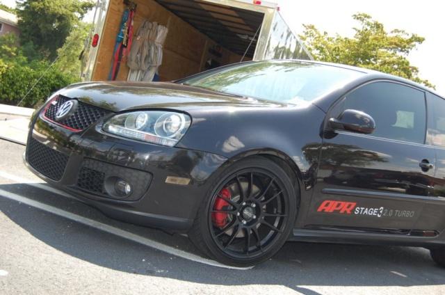 2007 Volkswagen GTI MKV 1 4 mile Drag Racing timeslip