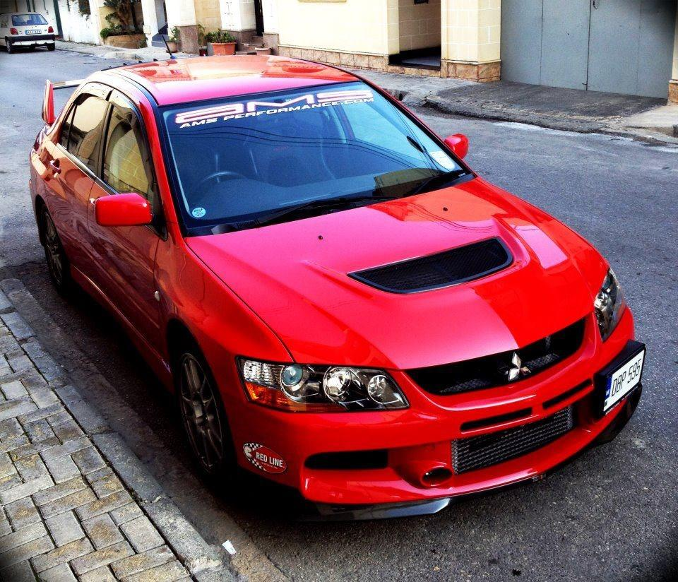 Mitsubishi Lancer 22006 Wallpaper: 2006 Red Mitsubishi Lancer EVO GSR 9 Pictures, Mods