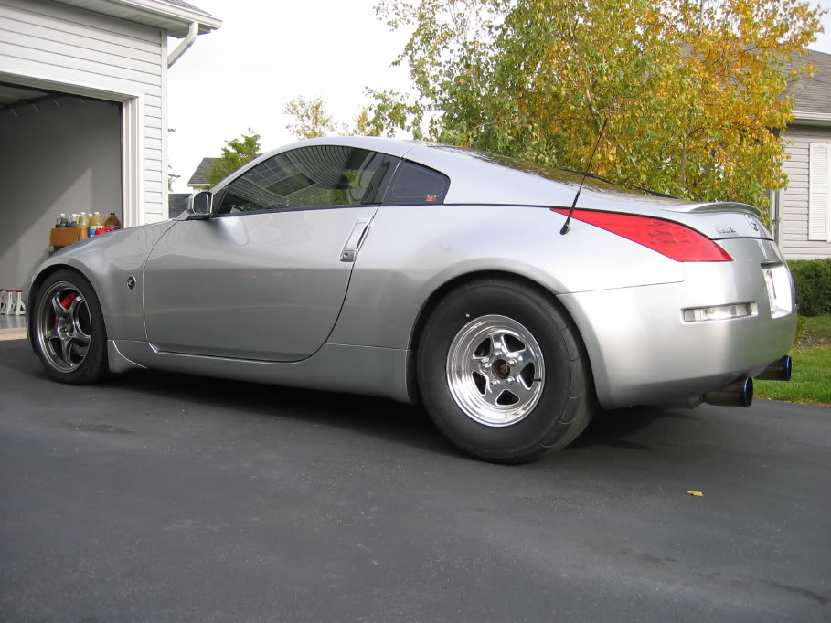2003 Nissan 350Z Twin Turbo Touring 6MT 1/4 mile trap ...