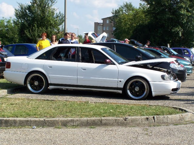 1992 Audi 100 C4 Sedan 1/4 mile Drag Racing timeslip specs ...
