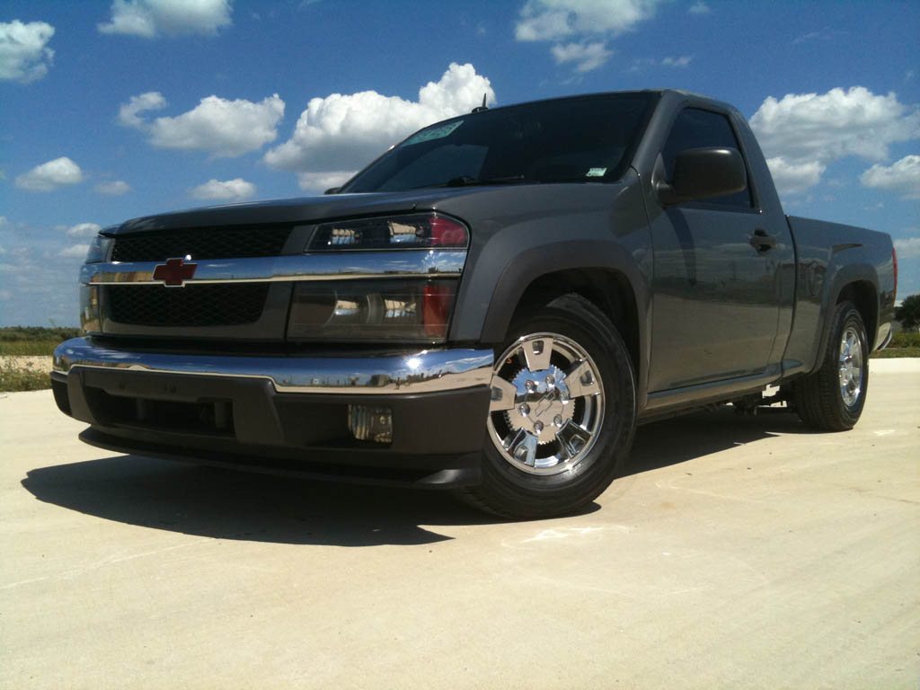 2008 Chevrolet Colorado LT regular cab 1/4 mile Drag Racing ...