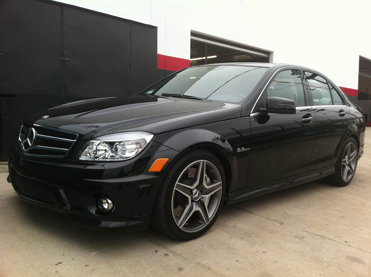 1 4 Mile Times >> 2011 Mercedes-Benz C63 AMG OE Tuning, Gintani Stg1 Exhaust, Street Tire 1/4 mile Drag Racing ...
