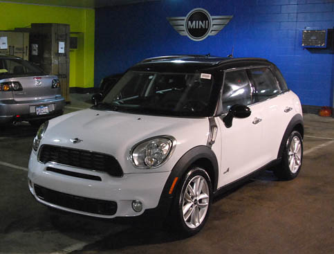 2011 mini cooper s countryman all4 1 4 mile trap speeds 0. Black Bedroom Furniture Sets. Home Design Ideas