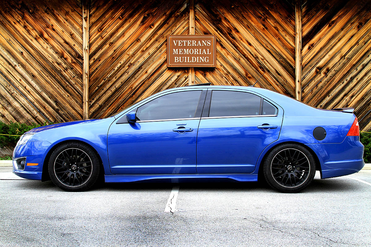 2010 Sport Blue Metallic Ford Fusion Sport FWD picture, mods, upgrades