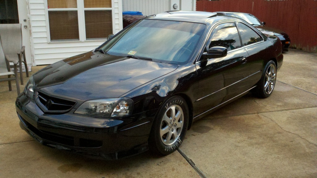 2003 acura cl 6 speed 3 2 s 1 4 mile drag racing timeslip. Black Bedroom Furniture Sets. Home Design Ideas