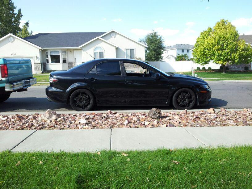 Black Mica 2006 Mazda 6 Mazdaspeed 6