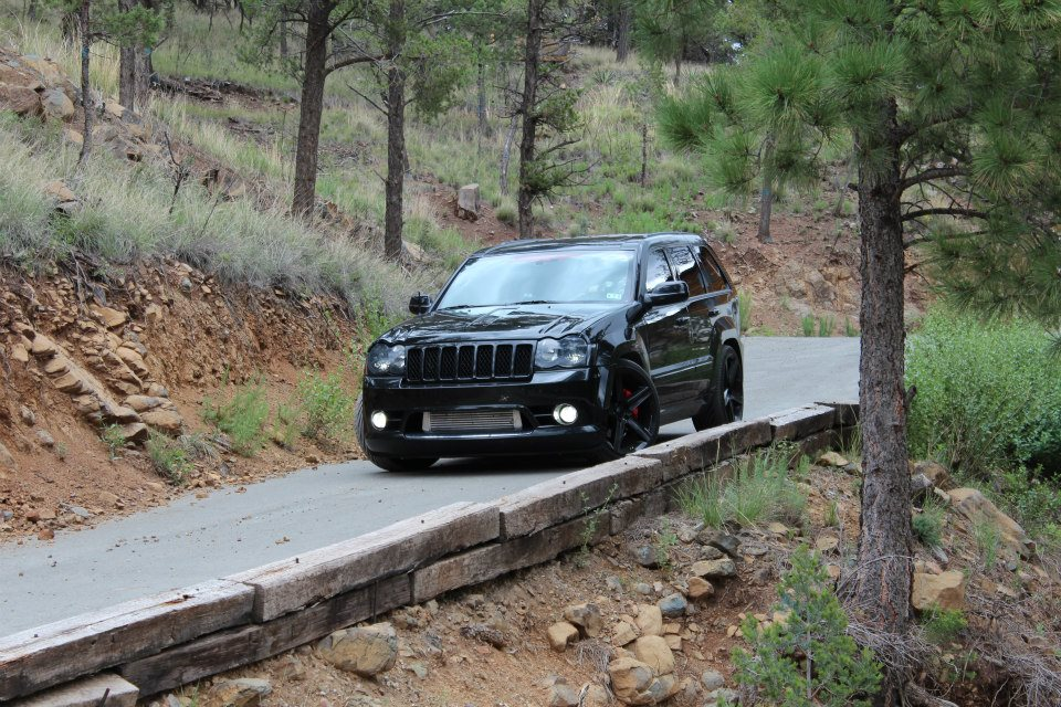 2010 Brilliant Black Jeep Grand Cherokee SRT8 ProCharger D1SC picture, mods, upgrades