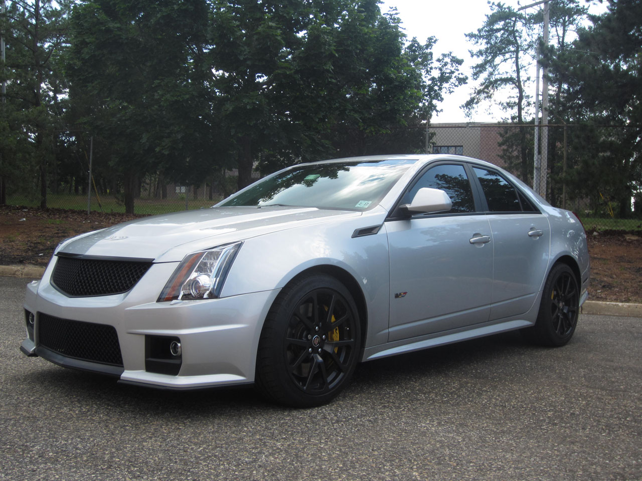 2012 Silver Cadillac Cts V Pictures Mods Upgrades