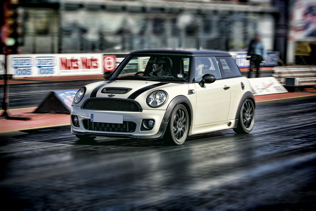 2007 mini cooper s r56 1 4 mile drag racing timeslip specs. Black Bedroom Furniture Sets. Home Design Ideas