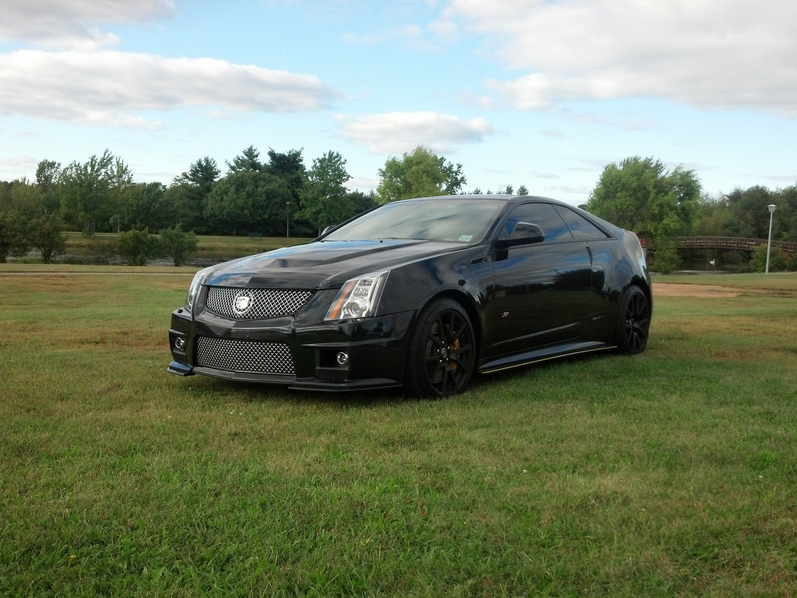 2012 Black Diamond Cadillac CTS-V Coupe Pictures, Mods ...