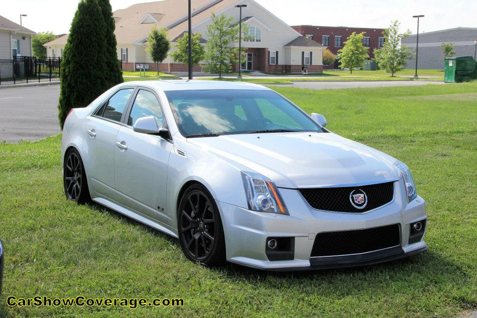 2009 Silver Cadillac CTS V Manual Pictures Mods Upgrades