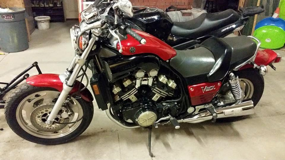 1 4 Mile Times >> Stock 1988 Yamaha V Max 1/4 mile trap speeds 0-60 ...