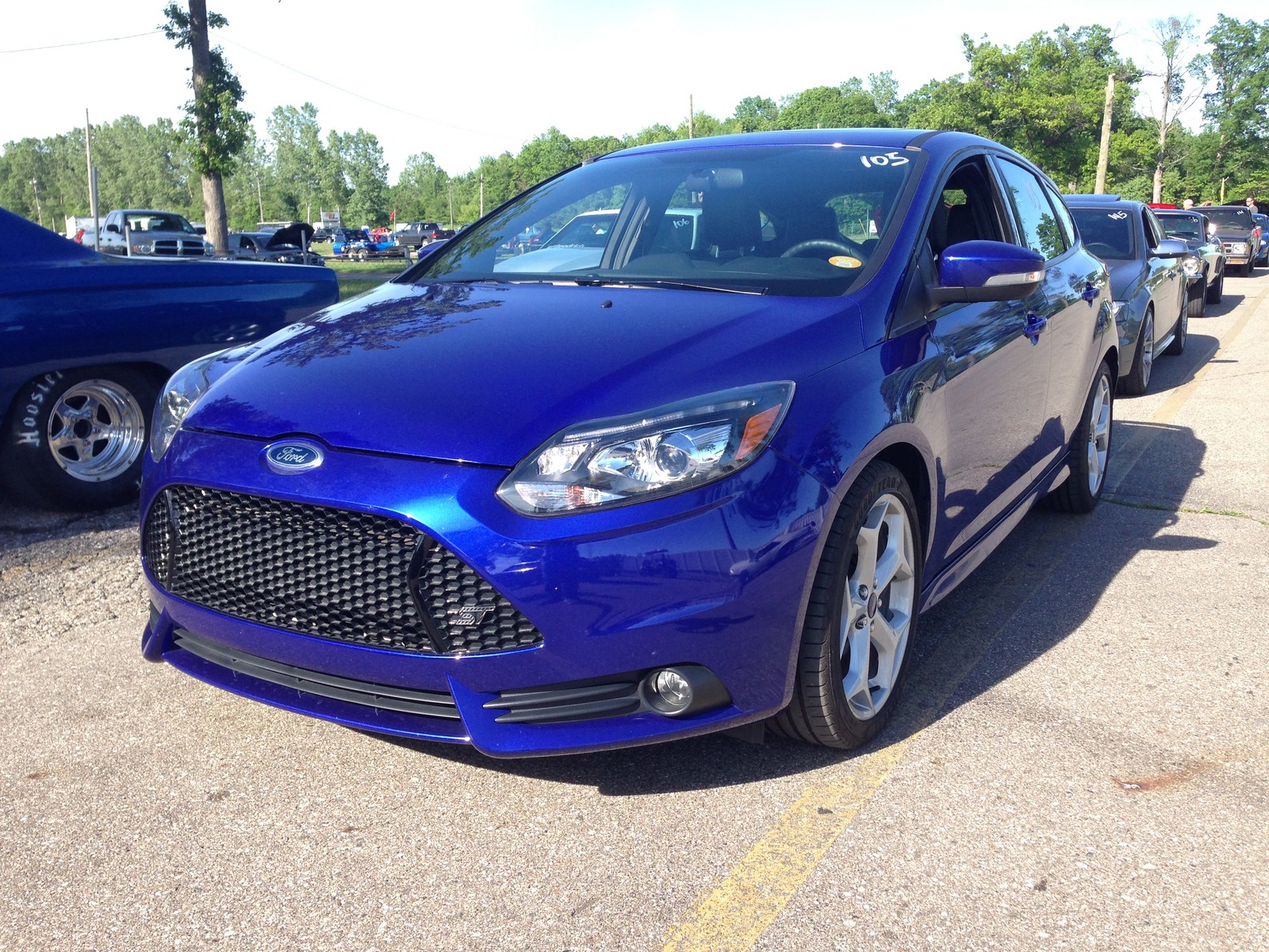 Stock 2014 Ford Focus ST 1 4 mile trap speeds 0 60 DragTimes