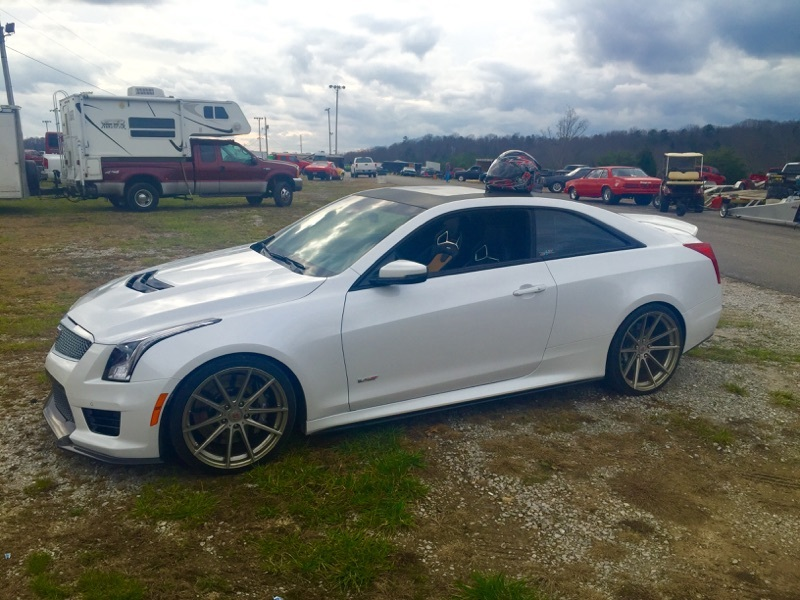 Cadillac Ats Performance Parts >> 2016 Cadillac ATS V Series 1/4 mile trap speeds 0-60 - DragTimes.com